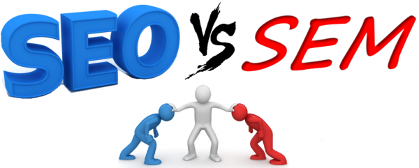 تفاوت SEM و SEO