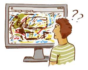 طراحی نامناسب وب سایت