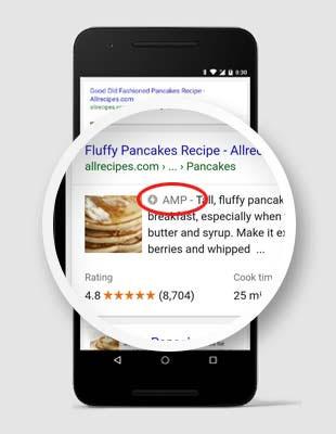 افزونه AMP گوگل
