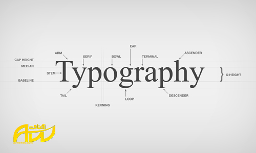 تایپوگرافی و تاثیر آن بر طراحی سایت