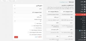 آموزش افزونه AccessPress Instagram Feed
